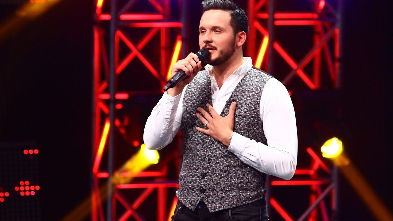"""Mihai Trăistariu - """"Cât de frumoasă eşti"""". Vezi aici cum cântă Marcel Roşca, la X Factor!"""