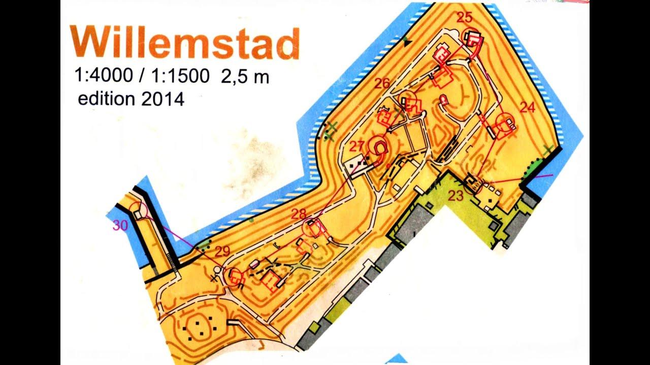 Underground orienteering - Willemstad