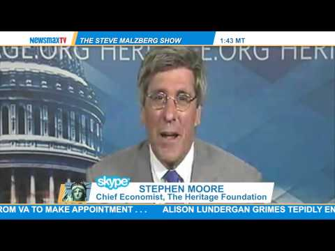 Stephen Moore -- chief economist for The Heritage Foundation