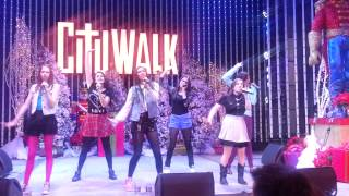 Cimorelli Performs You Got Me Good at Universal CityWalk 12/16/12