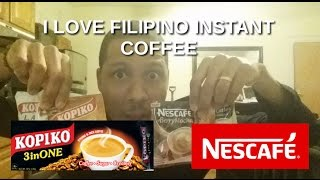 In love with Philippines: American loves filipino coffee