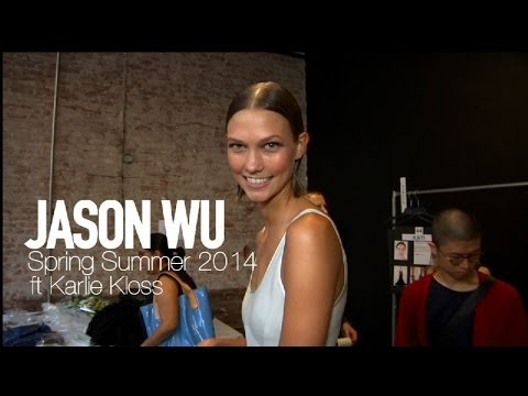 JASON WU Spring 2014 Backstage Karlie Kloss, Jourdan Dunn | MODTV