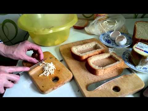 Омлет Рецепт с сыром и хлебом Что как приготовить омлет на завтрак блюда из яиц быстро вкусно