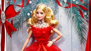 2018 Holiday Barbie Doll Review