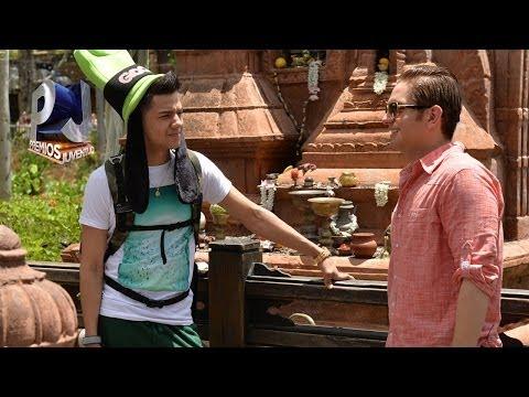 El Dasa y Luis Coronel dos machotes en Walt Disney World