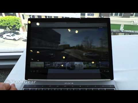 New Google Maps hands-on with Chromebook Pixel at I/O 2013