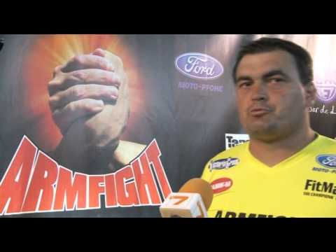 Armfight  - Marin Pantaleev VS Radu Valahu 20 August 2011