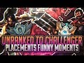 Lagu Tarzaned  UNRANKED TO CHALLENGER  PRESEASON JUNGLERS  PLACEMENTS FUNNY MOMENTS