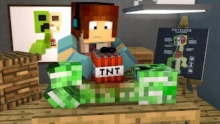 Minecraft: CIRURGIA NO CREEPER  - ( Monstros Minecraft)