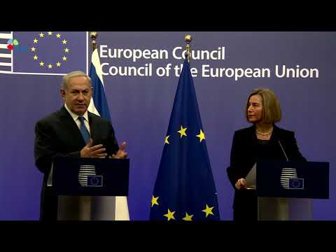 PM Netanyahu's remarks at his meeting with EU Foreign Ministers
