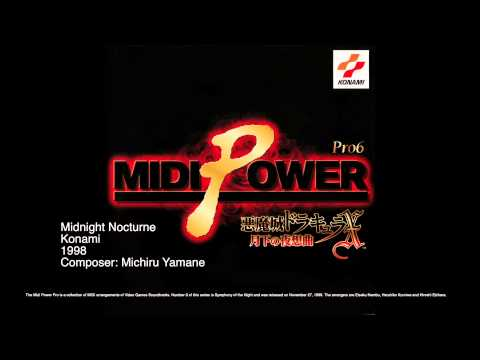 Castlevania Midi Power Pro 6 Midnight Nocturne
