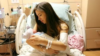 EMOTIONAL BIRTH VLOG!