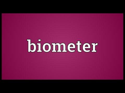Header of biometer