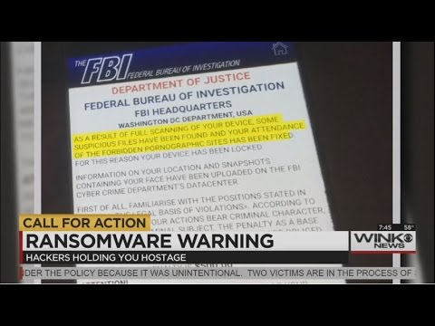 "MonsterCloud's CEO Zohar Pinhasi / ""CBS"": Ransomware virus uses fake FBI threat on android"