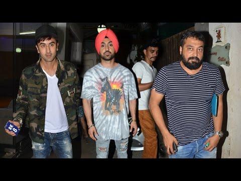 Udta Punjab Movie Special Screening   Ranbir Kapoor, Daljit Dosanjh, Anurag Kashyap