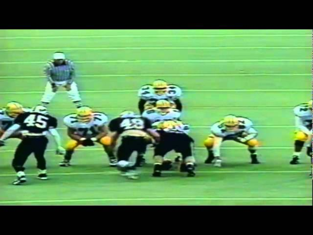 Oregon WR Cristin McLemore 21 yard catch vs. OSU 11-19-1994