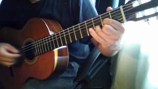 classical guitar  my first song