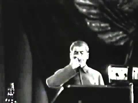 смерть Ленина и взрывная речь Сталина о Ленине