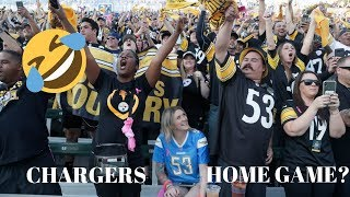 Chargers EMBARRASSED | Steelers Fans TAKE OVER LA