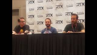 RTX Austin 2017 - Let's Play Press Panel (Geoff Ramsey, Bruce Greene, and Greg Miller)