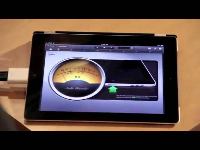 Using AT2020 USB microphone with iPad