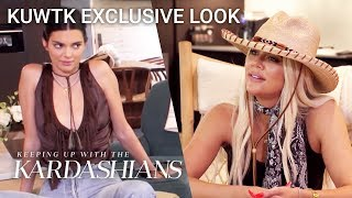 The Kardashians Go Cowgirl-Chic On Family Bonding Trip In Wyoming | KUWTK Exclusive Look | E!