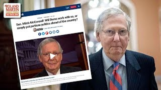 Hold Up ... Mitch McConnell Wrote An Op-Ed Calling For Bipartisanship