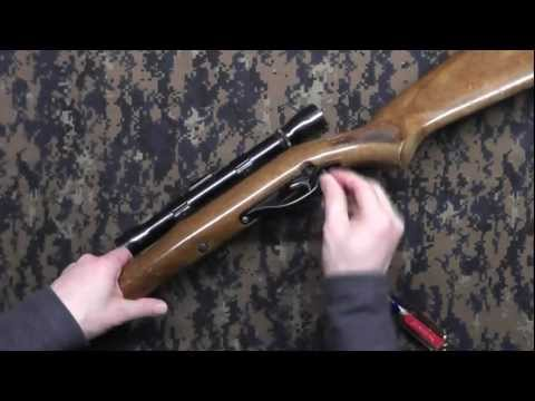 Marlin Glenfield Model 60 takedown