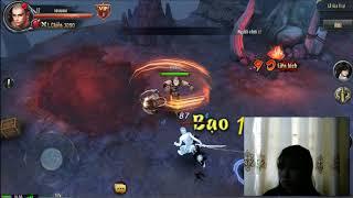 game ngạo thiên mobile làm nhiệm vụ đánh ma ha ba tư