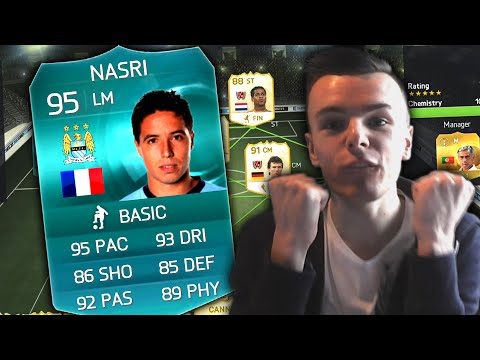 FIFA 15 - 95 RATED NASRI PRO CARD + PELE TEAM!