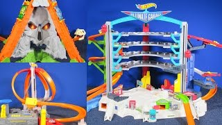 Which 2015 Hot Wheels Set Is the Best Gift? Ultimate Garage, Spin Storm or Volcano Blast?