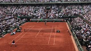 Nadal 2018 Roland Garros winning moment
