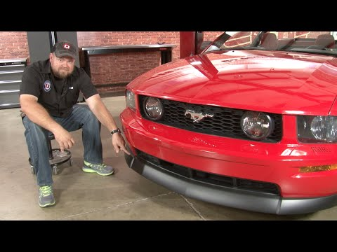 Mustang CDC Classic Front Chin Spoiler 2005-2009 GT