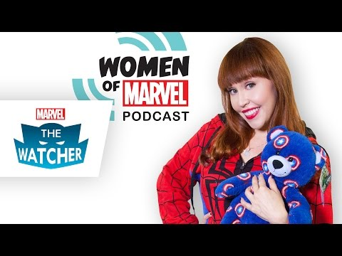Slumber Party with the Women of Marvel - The Watcher 2014 Ep 35