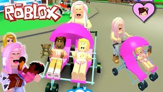 Roblox Adopt Me! With Baby Goldie's New Family - Stroller Updates!