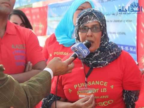 توزيع المساعدات على الاسر المعوزة من طرف فعاليات المجتمع المدني