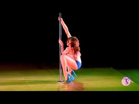 2012 US Pole Dance Championship - Sarah Jade