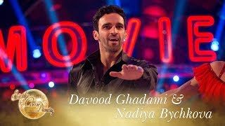Davood Ghadami and Nadiya Bychkova Samba to 'Stayin' Alive' - Strictly Come Dancing 2017