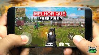 SAIU NOVO GAME MAIS LEVE QUE FREE FIRE E NOVOS JOGOS PARA ANDROID 2019