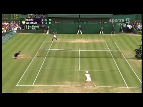 [HL] Justine Henin vs. Serena Williams 2007 Wimbledon [QF]