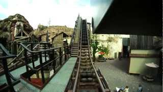 "Colorado Adventure ""Michael Jackson Thrill Ride"" Front Seat On Ride HD POV - Phantasialand, Germany"