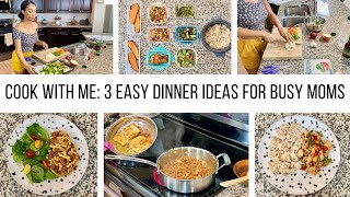 COOK WITH ME 2020//EASY DINNERS IDEAS FOR BUSY MOMS//MEAL PREP// Jessica Tull