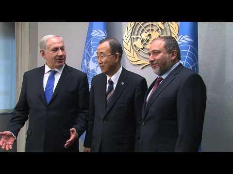 PM Netanyahu Meets with UNSG Ban Ki Moon
