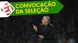 CONVOCAÇÃO DA SELEÇÃO BRASILEIRA PARA A COPA AMÉRICA