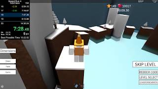ROBLOX Speed Run 4 - All Levels Glitchless in 13:27.250