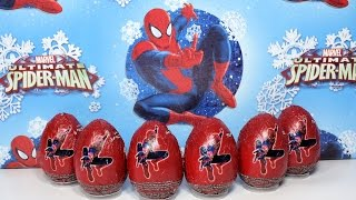 Huevo Sorpresa  Spider-man 2.The amazing Spider-man 2 Surprise Eggs