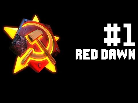 Let's Play Red Alert 2 - Soviets - Part 1 - Red Dawn