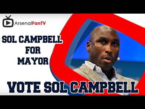 Vote Sol Campbell For London Mayor!!