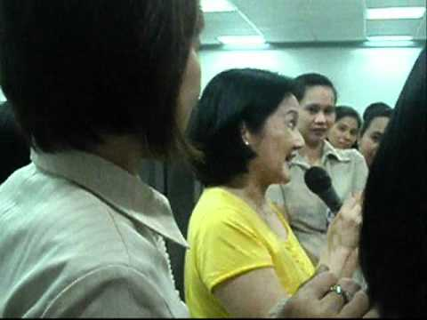 Visit of Madam Ballsy Aquino Cruz in LBP Iloilo Br