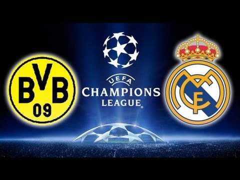 Real Madrid V Bor. Dortmund  -- Champions League Semi Final (Predictor Highlights) 24/04/13